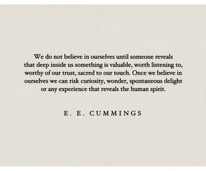 cummings, text, and wise image