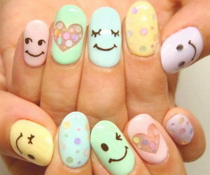 nails and smile image