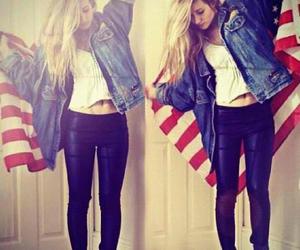 hipster, flag, and usa image