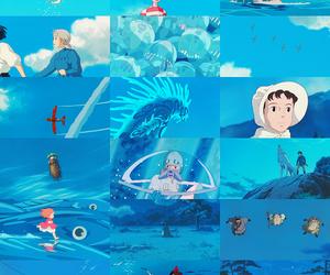 blue, anime, and ghibli image