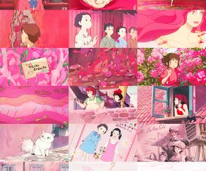 pink and anime image