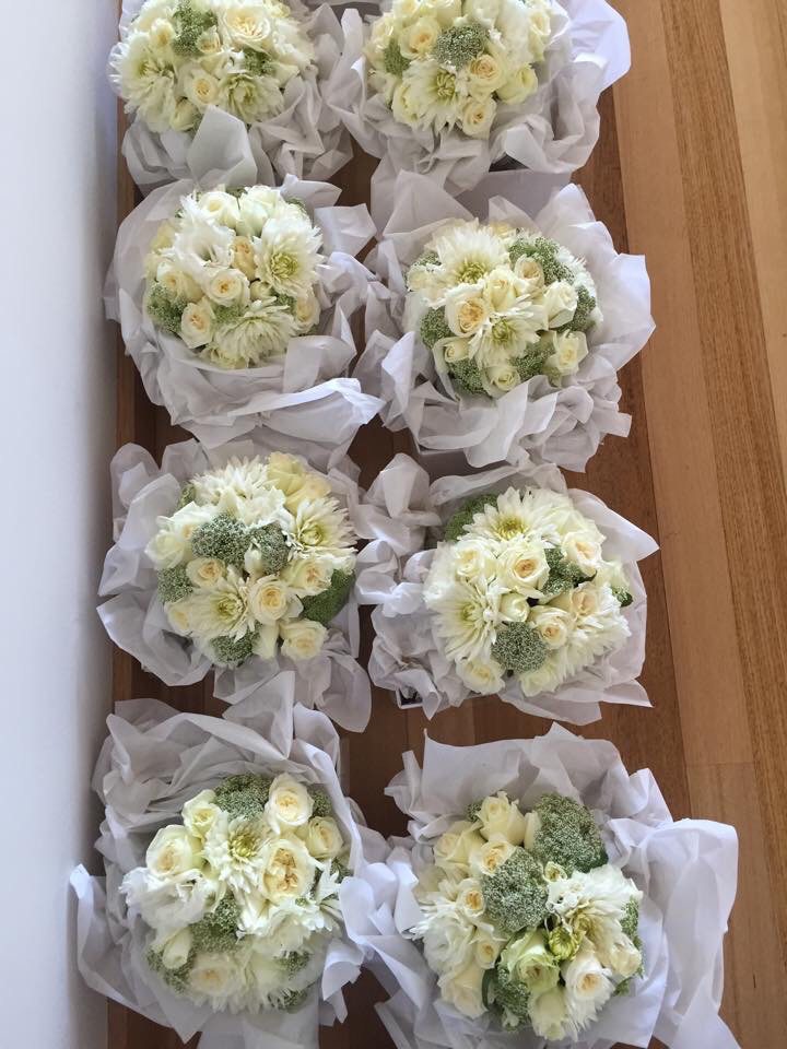 flowers, wedding flowers, and wedding bouquets image