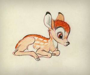 bambi, cute, and disney image