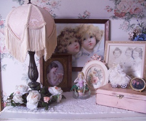 decoration, pastel, and lamp image