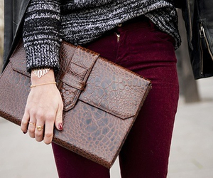 autumn, fashion, and purse image