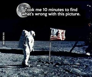 moon, funny, and lol image