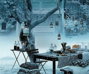 romantic, snow, and stockholm image
