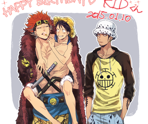 anime, one piece, and monkey d. luffy image