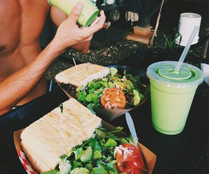 food, healthy, and boy image