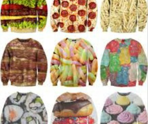 clothes, food, and pizza image