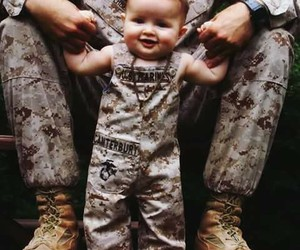 army, baby, and smile image