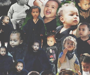 baby, kardashian, and Collage image