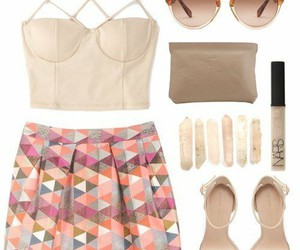 fashion, look, and summertime image