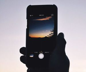 camera, iphone, and nature image