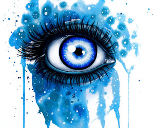 blue, colour, and painting image