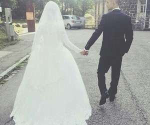 couple, marriage, and muslim image