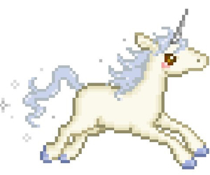 unicorn, transparent, and edit image