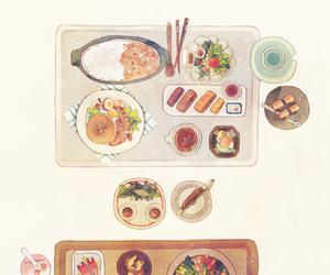 food, art, and illustration image