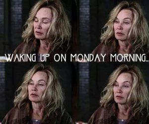 asylum, jessica lange, and monday image