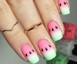 fashion, cute, and nails image