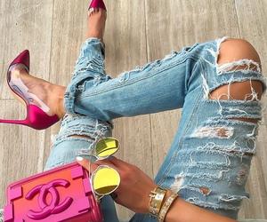 fashionable, girl, and x image