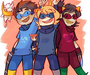Rogue and homestuck image