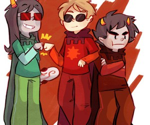 knight and homestuck image