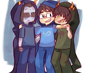 heir and homestuck image
