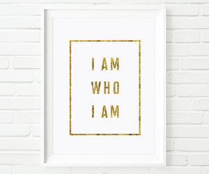 home decor, inspirational print, and motivational quote image
