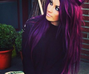 beautiful, gorgeous, and colorful hair image