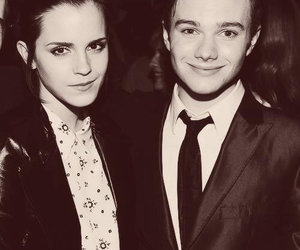 emma watson and chris colfer image