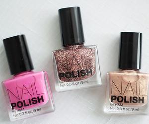 nails, nail polish, and girly image