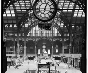 new york, penn station, and places image