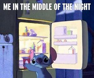 food, stitch, and funny image