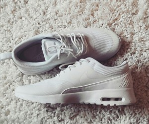 nike, white, and love image