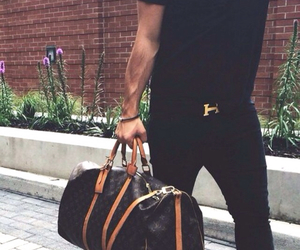 style, hermes, and man image