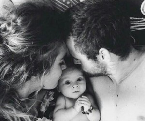 baby, family, and love image