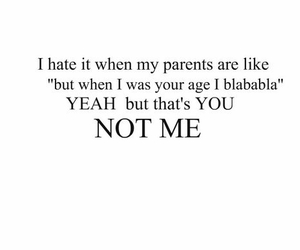 parents, quotes, and hate image