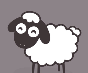 iphone, sheep, and cute image