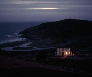 house, nature, and dark image