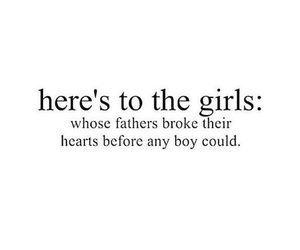 father, boy, and quote image