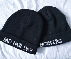 hat, homies, and black image