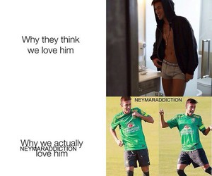 neymar and love image