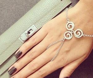 accessories, bracelet, and dark image