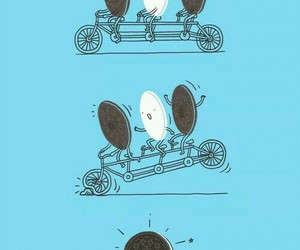 oreo, funny, and lol image