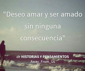 frases, pensamientos, and love image