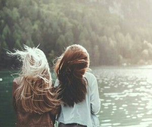 girls, tumblr, and bestfriends image