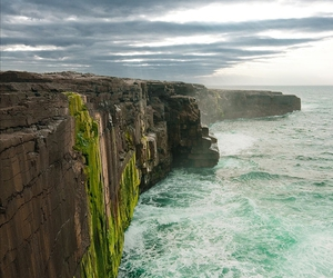 ireland, cliff, and photography image