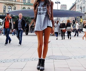 fashion, girl, and legs image