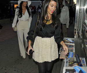 fashion, girl, and kourtney kardashian image